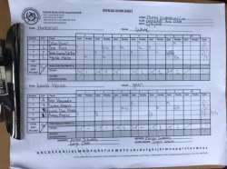 RESULTS - USPA Monty Waterbury Game 1